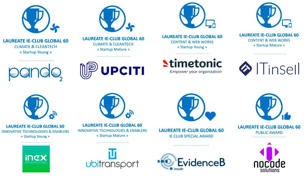 L'IE-Club récompense 8 « Global Leaders » pour la 7ème édition du Global Innovation & Enterprise